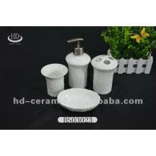 Daily use ceramic bathroom accessory