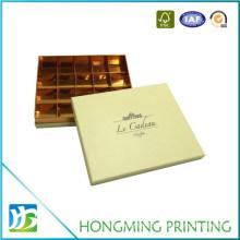 Logo Embossing Cardboard Wedding Chocolate Gift Box