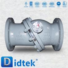 Robinet de retenue à bride à haute pression en acier inoxydable Didtek