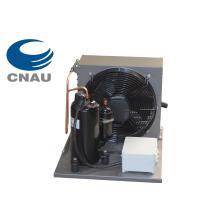 Unidad de condensación refrigerada por aire, unidad de refrigeración para cámara fría