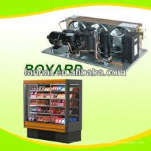 R22 r404a compresseur de refroidissement unité de condenseur pour vrais réfrigérateurs commerciaux unité de réfrigération chambre froide
