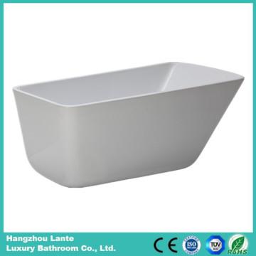 Акриловая бесшовная ванна из стекловолокна с сливом (LT-26D)