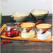 Frasco de especiarias de vidro Eco-Freindly Food Grade