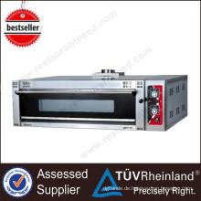 Für Restaurant Küchenausstattung Luxus 1-Schicht-3-Fach-Gas-Doppelstock-Ofen