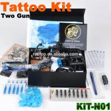 Kit completo de la máquina del tatuaje de la venta, arma dos, nuevo diseño