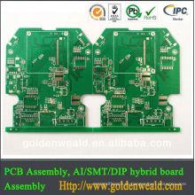 O GV, TS16949, fabricante da placa de circuito impresso, PWB conduziu o PWB 94v0