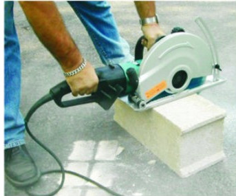 cutting artifical stones