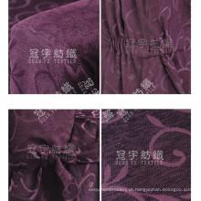 Tecido de chenille jacquard de fio de poliéster para sofá