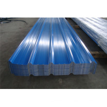 Светло-синий цвет с покрытием Трапецеидальная стальная листовая пластина