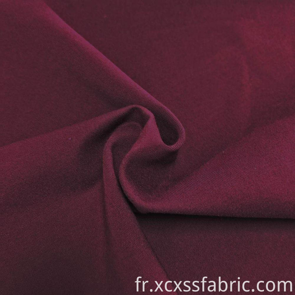 dyed 40S siro knitted ponte de roma fabric