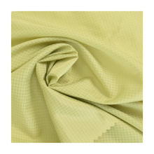Making Jacket Pleated Short Skirt Dress Cloth Ripstop Fabric a Little Thick Plaid Polyester Taffeta Fabric Woven Roll Packaging