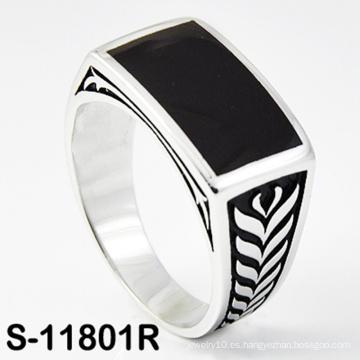 Anillo de plata esterlina de la joyería 925 de la manera al por mayor de la fábrica