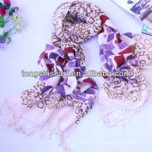 fashionable acrylic infinity scarf
