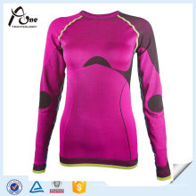 Femmes Tops Thermiques Seamless Undershirts Wholesale