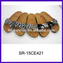 Nuevas sandalias planas de las señoras elegantes de la manera sandalias baratas de las señoras de las sandalias de China