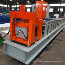 China fabricar áfrica recipiente de metal vitrificado telha de alumínio fazendo perfil canal de aço telhado cumeeira rolo formando máquina