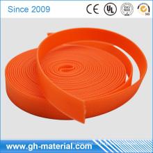 Hersteller helle Orange Farbe PVC beschichtet Nylon und Polyester Gurtband