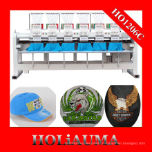 Factory Customized The Best Six Head Embroidery Machine for Cap/t-shirt/flat garment Embroidery
