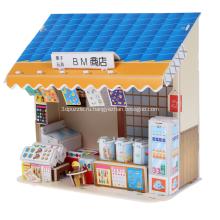 Головоломка 3D продуктовый магазин