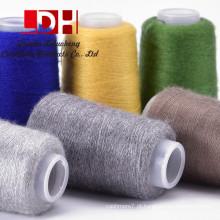 Mulheres suaves Material de camisola Lã longa de lã Sueter de pelúcia O-pescoço Camisola de mulher Mink Cashmere Faux Fur Mink fio de caxemira