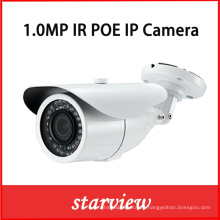 1.0MP 720p Poe impermeable IR Bullet red CCTV seguridad de la cámara IP