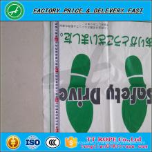 Tapis protecteurs en plastique jetables bon marché antidérapage de voiture en petit pain