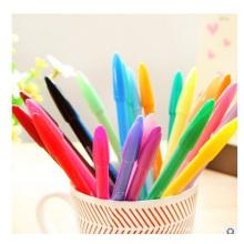 Pluma fluorescente promocional del fabricante del marcador, pluma con tamaño normal