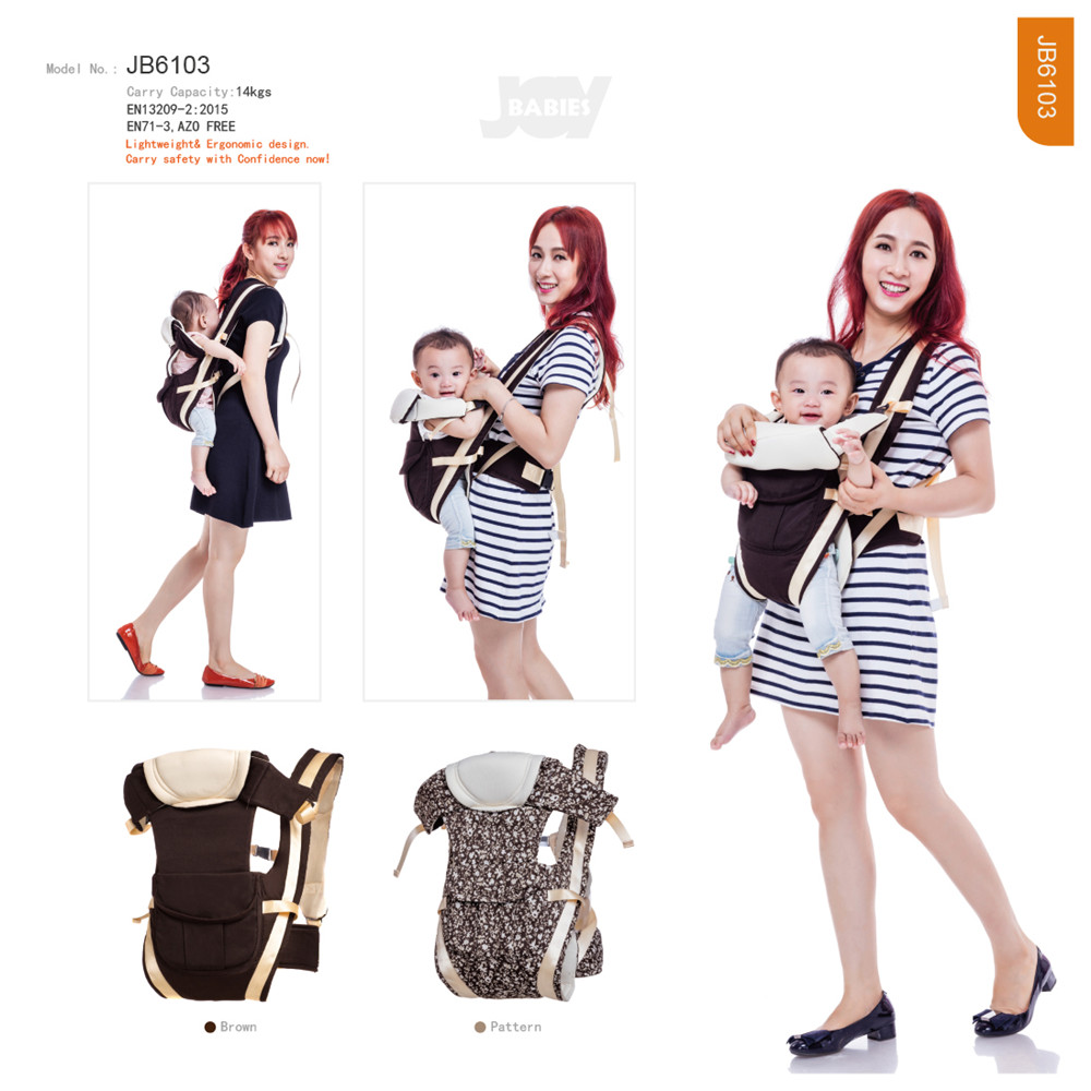 Lightweight Breathable Mei Tai Wrap Carrier
