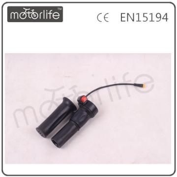 MOTORLIFE Gashebel für E-Bike, E-Gasgriff, E-Bike Schalter