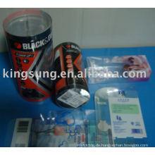 Transparente Kunststoff-PVC-Box (PET, PC-BOX)