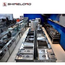Equipamentos de catering para o hotel American Style Stainless Steel Restaurant Equipamentos de cozinha