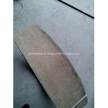 Rolamento de forro de freio de resina de amianto