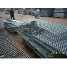 Стальная решетчатая платформа