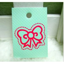 2015 Fashion Lovely Clothing Brand Paper Labels and Garment Hang Tag