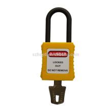 Certificación CE resistente al impacto y alta corrosión ABS bloqueo largo candado