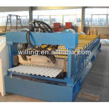 Maquina de acero corrugado chino