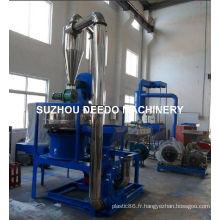 Machine de Pulverizer de PVC en plastique