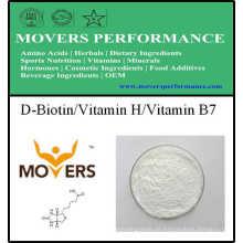 Nahrungsergänzungsmittel D-Biotin / Vitamin H / Vitamin B7