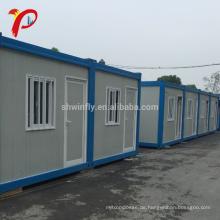 Gute Feuerbeständigkeit Eigenschaft erweiterbar Flat Pack Container Haus Luxus
