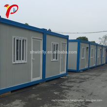 Good Fire Resistance Property Expandable Flat Pack Container House Luxury