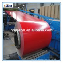 Bobina de acero recubierta de color (PPGI / PPGL) Bobina de acero galvanizada prepintada / DX51D / CGCC / SGCC / SD250