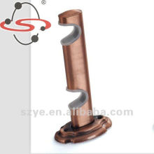 28mm metal double curtain bracket of curtain rod accessory