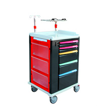 Fresh ABS Crash Cart Carrinho médico de emergência