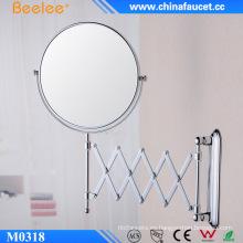 Espejo de aumento decorativo ajustable redondo contemporáneo