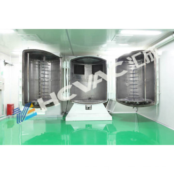 Máquina de revestimento móvel de titânio a vácuo