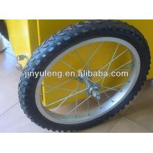 rueda de la bici de 20 pulgadas para uso de mesa de exhibición