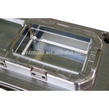 Forme a moldeo a presión modificado para requisitos particulares la caja seca de la fruta encajone el molde de los envases
