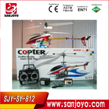 Helicóptero rc helicóptero real 3CH helicóptero aleación rc w / LED colorido