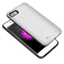 Estojo de bateria externo de plástico fino para iPhone 4800mah