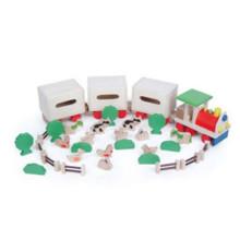 Farm Element Spielzeug Tier und Pflanzen Spielzeug Trian